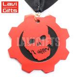 El metal de encargo de la alta calidad de la venta caliente del fabricante muere la cinta del cuello de la medalla de Casted