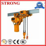 Веревочка провода/таль с цепью для подъема конструкции