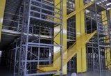 Racking d'acciaio del pavimento di mezzanine della soluzione di memoria del magazzino