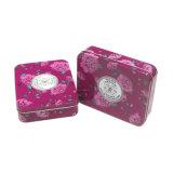 아름다운 꽃 인쇄 장방형 포장 가면 화장품 상자
