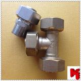 Appuyer l'ajustage de précision fileté par laiton pour la pipe de Pex-Al-Pex
