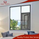 Doppeltes glasig-glänzendes Aluminiumflügelfenster Windows mit Fliegen-Bildschirm