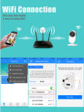 HD小型IR無線CCTVの機密保護のWiFi IPのカメラ