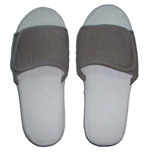 Pantoufle Doeskin Velcro
