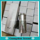Pirce baratos de alta calidad 450V 60UF de condensadores electrolíticos de aluminio Cbb65