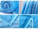 Silk Farbband gekreuzte packende Normallack-Polyester-Baby-korallenrote Flanell-Vlies-Zudecke