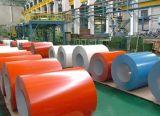 Rojo Prepainted bobina de aluminio con recubrimiento de color/hoja para tejados