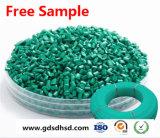 de Donkergroene Chemische Materiële Plastic Grondstof Masterbatch van 15% 25% 30%