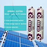 Sellante inoxidable del silicón del panel solar del tubo de acero en el color blanco