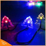 50LED休日の装飾のための太陽動力を与えられたクリスマスツリーストリングライト