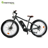 Bicicleta elétrica do pneu gordo MEADOS DE máximo do motor de movimentação do BBS HD 48V 500W 750W 1000W do BBS 02 de Bafang 8fun da bateria de lítio 30ah