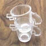 Чашка 8oz творческой конструкции высокого качества Handmade стеклянная для вина