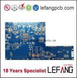 Carte de carte à circuit d'or de submersion pour l'électronique automobile