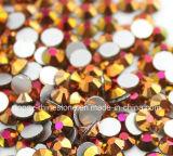 Чешская стеклянные бусины гладкой стороне наклейки Crystal ювелирные изделия из камня ослабление Rhinestone (FB-ss12/3.5мм /3A к категории)