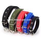 De goedkope Halsband van het Lood van de Hond Kleurrijke Nylon, de Levering van het Huisdier