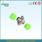 金属の固形物のネットワーク設備が付いているFC/APCの正方形のファイバーの光学アダプター