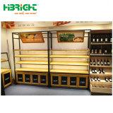 Новый пункт РР супермаркет дисплей фруктов и овощей для установки в стойку