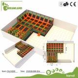 Vervaardiging van het Park van de Trampoline van China de Beste met het Team van het Ontwerp