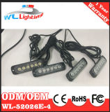 4X6 LED Gitter blinkendes Lighthead 12-24V
