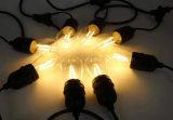 Im Freien 3M 12M Weihnachtszeichenkette-elektrischer Draht UL-SPT-1