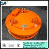 Hadlingの厚い鋼板のためのMW03-130L/1円形の持ち上がる電磁石