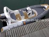 Barco inflável rígido do reforço do console Center de barco de prazer de Liya 20feet
