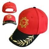 Les chapeaux de promotion avec broderie rouge (CEC021)