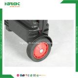 Zusammenklappbarer faltbarer fahrbarer Laufkatze-PlastikEinkaufswagen