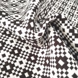 Blanco y negro de moda Tejidos Jacquard