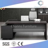 Moderno de color gris oscuro despacho Mesa Ejecutiva (CAS-ED31408)