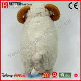 Jouet mou de peluche de moutons de peluche de caresse pour des enfants