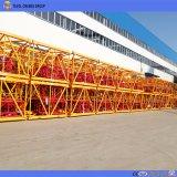 Qtz125 (6015) 8ton Electric de la construcción de la grúa torre Kit de inicio