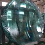 ليّن [&رووند] مربّعة زجاج/يقسم زجاج