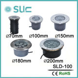 LED 물 증거 지하 빛 Sld-100