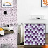 Violet articles stockés Mosaïque de verre pour la décoration murale