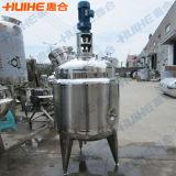 Tanque de reacción del mezclador de acero inoxidable