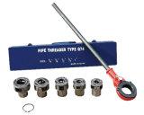 """Le rochet convenable des outils 5PCS de combinaison de filetage de tuyauterie d'offre d'usine de la Chine meurent Set1/4 """" - 1 ''"""