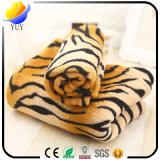 Coperta molle eccellente calda dell'animale domestico variopinto della coperta della flanella e del leopardo