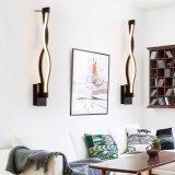 Lâmpada de parede branca nova do diodo emissor de luz do alumínio do quarto moderno