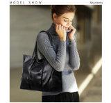 PUの革女性のハンドバッグのお母さん袋のショッピング・バッグ(WDL0873)