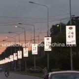 Réverbère Pôle/poste/pilier pH4/P5/P6 annonçant l'Afficheur LED de signe d'écran de médias numériques