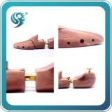 高品質のヒマラヤスギの木のカスタム木製のハンドルの靴の木