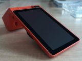 Bewegliches androides Radioapparat NFC Positions-Handterminal mit Thermodrucker