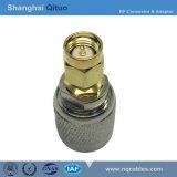 Adaptador de conector RF CNC enchufe macho a conector macho SMA