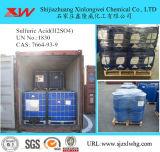 Citação do ácido sulfúrico H2so4 de 98%