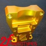 Metal de bronze personalizado chinês do OEM com a alta qualidade e o CNC agradável do revestimento que fazem à máquina do desenho