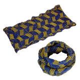 Для женщин и женщин шеи теплее фантазии толстых зимние трикотажные петля Snood шарфом (SK147)