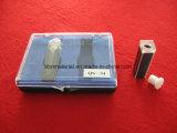 Celda de vidrio espectrofotómetro cubetas de cuarzo para
