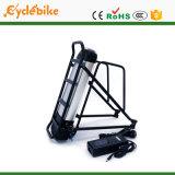 후방 Rack 48V 11.6ah Electric Bike Lithium Battery Pack