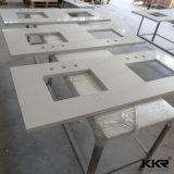 Salle de bains commerciale acrylique 20 mm Surface solide plan de travail (180118)